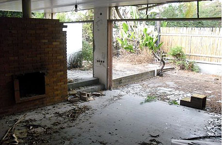 הבית השכור לפני השיפוץ, צילום: כפיר בולוטין
