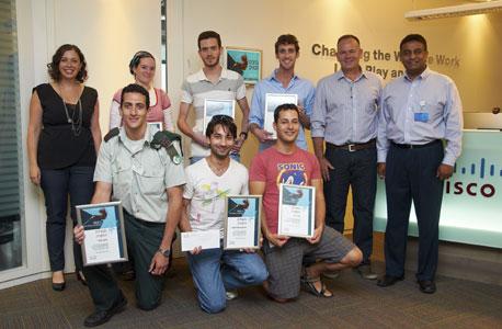 הסטודנטים הזוכים, צילום: ויטלי אמפורופולו