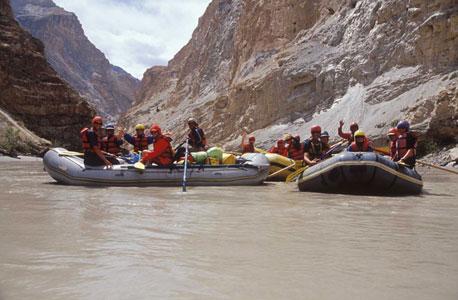 נהר הזנסקר בהודו. מחיר: 3,290 דולר