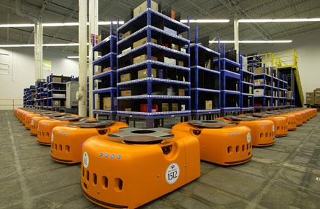 יוניטרוניקס תקים מחסן אוטומטי רובוטי ללקוח ב-50 מיליון שקל