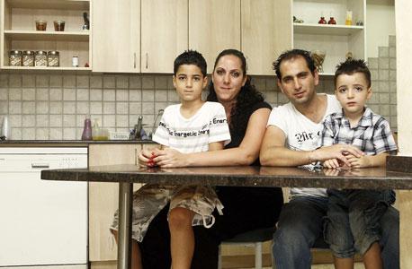 משפחת כהן, חולון, צילום: אוראל כהן