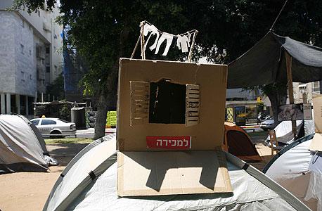 מחאת אוהלים, צילום: תומי הרפז