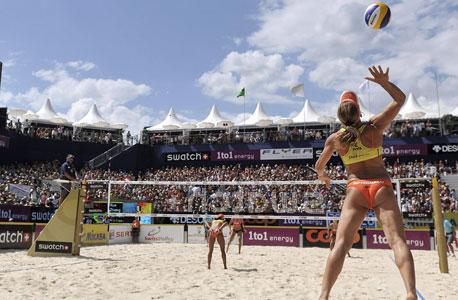 סמארט תעניק חסות לאליפות אירופה בכדורעף חופים שתיערך בישראל