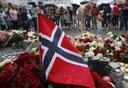 זרים לזכר הרוגי הטבח בנורבגיה, צילום: רויטרס