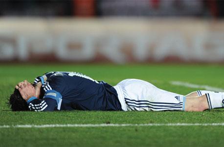 ליאו מסי. אדידס נשארה בארגנטינה גם בגללו אז הוא לא כזה גרוע, נכון?, צילום: איי אף פי