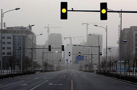 אורדוס, עיר שדה במונגוליה הפנימית. הוקמה למיליון תושבים, עומדת ריקה