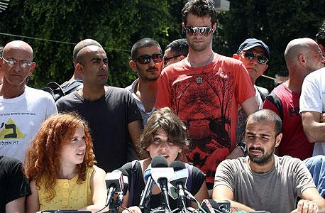 ראשי המוחים באחת ממסיבות העיתונאים (ארכיון)