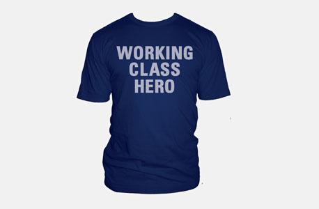 טי־שירט Working class Hero