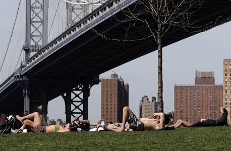 פארק גשר ברוקלין, ברוקלין. תצפית נהדרת על מנהטן