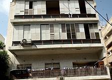 הבניין בו התגוררה דפני ליף ברחוב אהרונוביץ' 9