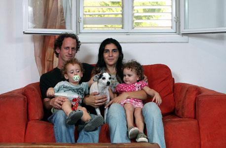 משפחת פילס, צור משה, צילום: נמרוד גליקמן