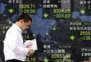 בורסת טוקיו יפן הנפילה הגדולה אוגוסט 2011 בורסות אסיה, צילום: בלומברג