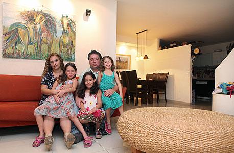 משפחת סילברמינס, פתח תקווה , צילום: אוראל כהן