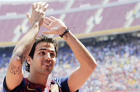"""ססק בברצלונה. לפני פחות משבוע אמר ונגר ש""""אף אחד לא יעזוב את ארסנל"""""""