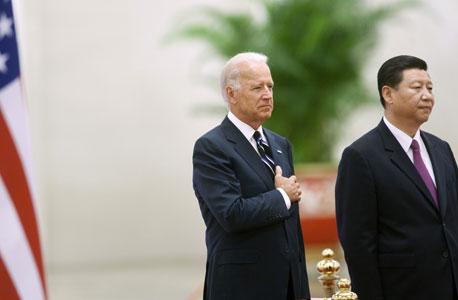 ביידן עם נשיא סין שי