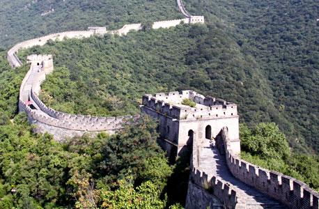 החומה הסינית. אילוסטרציה