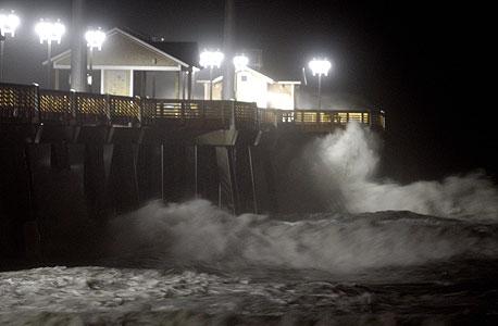 ההוריקן פגע בחוף המזרחי, צילום: MCT