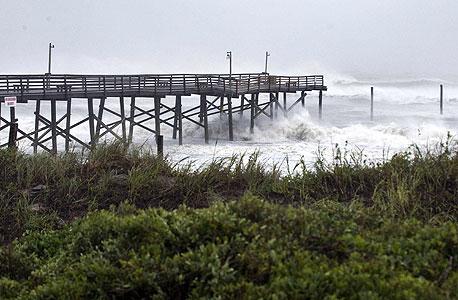 הסופה הגדולה, צילום:רויטרס