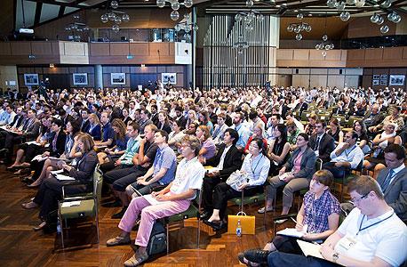 הרצאה בכנס חתני פרס נובל בלינדאו