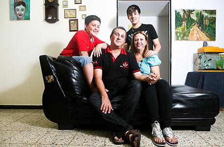 משפחת וולף, חולון, צילום: תומי הרפז