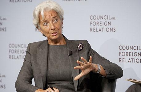 """כריסטין לאגארד, יו""""ר קרן המטבע הבינלאומית, צילום: בלומברג"""