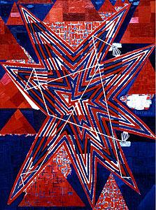 """""""אגם כוכב"""", 1987, דגנית ברסט. גלריה ג"""