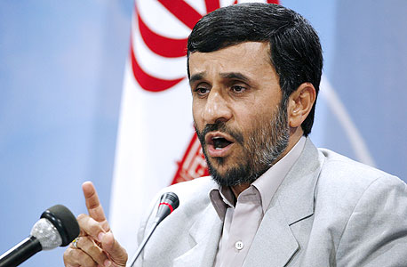 """נשיא איראן אחמדינג'אד. """"חקרנו את פליים אחרי שאיימו לפרסם שהתוכנה שלנו היא סוס טרויאני"""""""