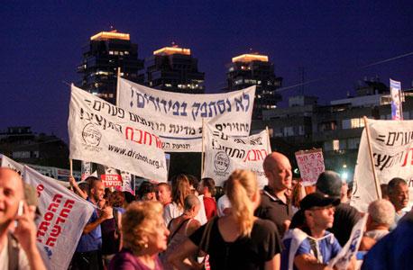 """""""הפגנת המיליון"""" בתל אביב, ספטמבר 2011, צילום: אריאל שרוסטר"""
