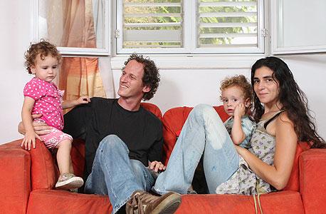 משפחת פילס, צור משה , צילום: נמרוד גליקמן