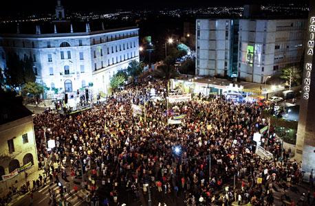 הפגנה מחאה ירושלים ה מיליון , צילום: נועם מוסקוביץ'