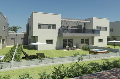 הדמיית פרויקט מגורים בירוחם של קבוצת גרין