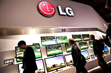 מסכי התלת-ממד של LG