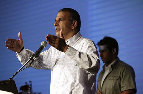 נאום שר התקשורת והרווחה, משה כחלון, צילום: עמית שעל