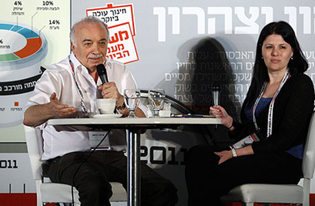 אליעזר פישמן ונעמה סיקולר , צילום: אוראל כהן