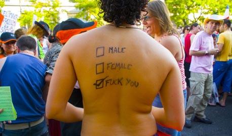 אל תנעצו מבטים באנשים ערומים, צילום: מייק סליצ