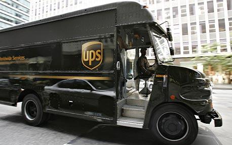 חברת השילוח UPS, צילום: בלומברג