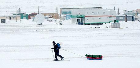 מוסף קוטב צפוני הקוטב הצפוני ריזוולט, צילום: רויטרס