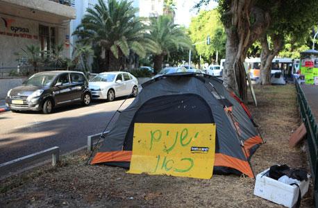 פינוי המאהלים בתל אביב נדחה ביום