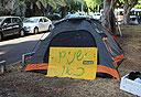 אוהל בשדרות רוטשילד , צילום: ענר גרין