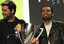 שייקר זוכה בגביע בשנה שעברה, צילום: Techcrunch