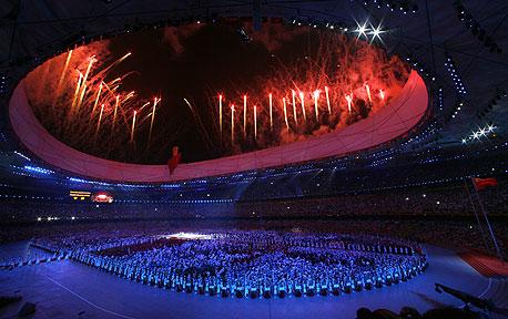 טקס פתיחת אולימפיאדת בייג'ינג. האם הבריטים ישחזרו את ההצלחה?