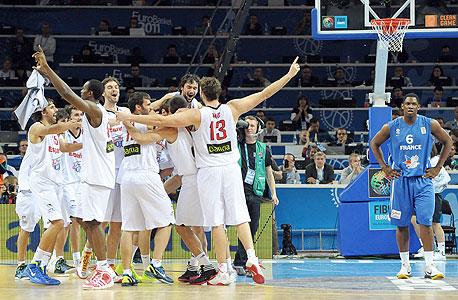 נייקי תעניק חסות לנבחרת הכדורסל של ספרד