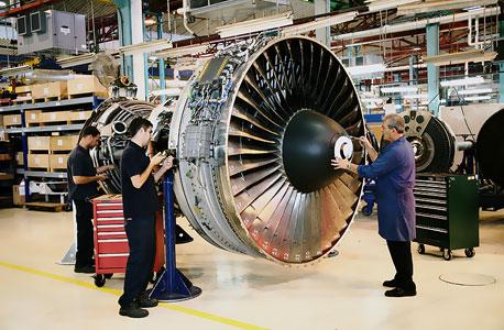 בתעשייה האווירית (ארכיון)