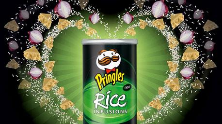 פרינגלס אורז. 70 מוצרים בפיתוח