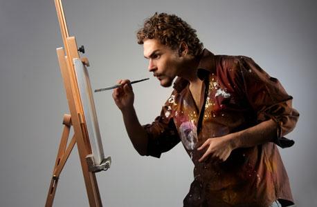 צייר, צילום: shutterstock