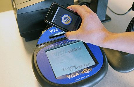 כלי תשלום מבוסס NFC של ויזה. גוגל מעדיפה להשקיע בארנק ענני