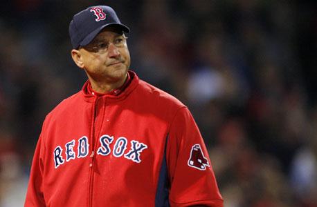 טרי פרנקונה, מאמן הבוסטון רד סוקס. הקבוצה נפרדה ממנו לאחר 8 שנים כי יש דברים שאי אפשר לסלוח עליהם, צילום: רויטרס