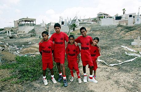 ילדים ממפעלות החינוך של הפועל תל אביב