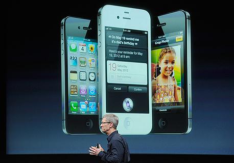 אייפון 4S. העיצוב לא השתנה, צילום: איי אף פי