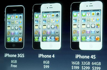 האייפונים לדורותיהם. יש גם בזול